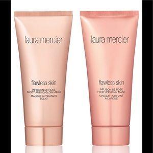 Laura Mercier Flawless skin Rose clay Mask Duet
